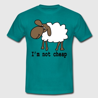 I am not cheap - Men's T-Shirt