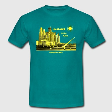 Summer in the City Buenos Aires Argeninien - Männer T-Shirt