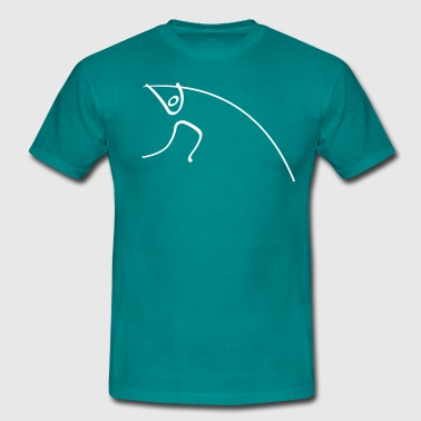 Athletics Pole Vault Pictogram - Men's T-Shirt