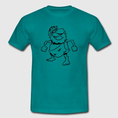 Stone Age man - Men's T-Shirt