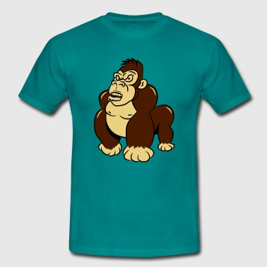 Gorillas agro wicked cool - Men's T-Shirt