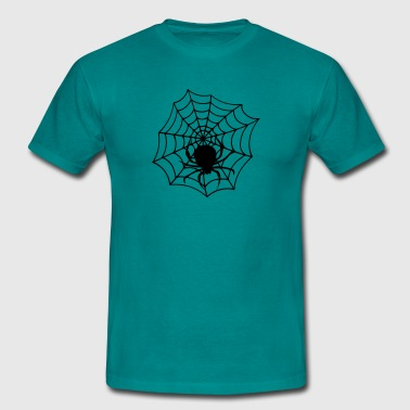 cobweb cobwebs reticle big spider - Men's T-Shirt