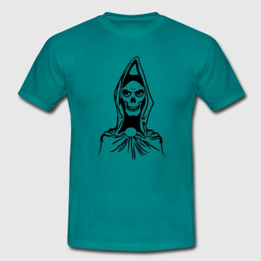 Death hooded robe evil - Men's T-Shirt