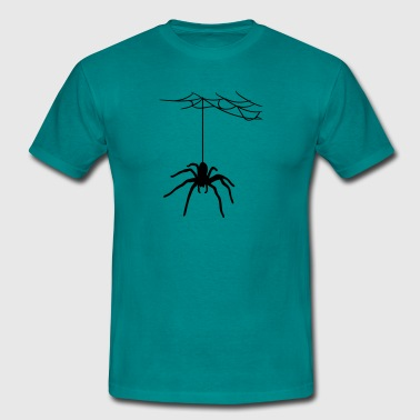 bland cobweb spider cobwebs large - Men's T-Shirt
