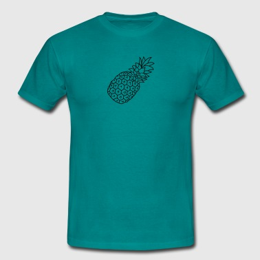 pineapple holidays Eat Well - Men's T-Shirt