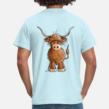 Highland Scottish Highland Cattle - Men's T-Shirt