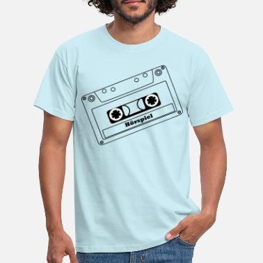 Radio Drama Radio play cassette MC - Men's T-Shirt