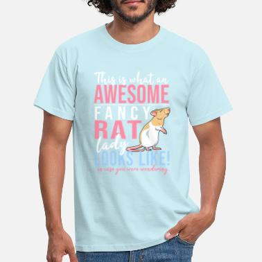 Rat Fancyrat Awesome III - Men's T-Shirt