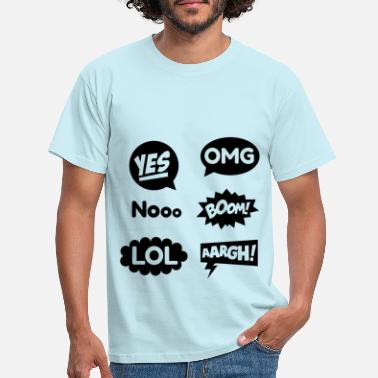 Comic comic - T-shirt Homme