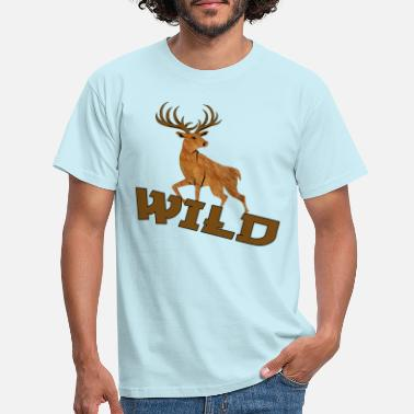 Wild Deer Wild Deer - Men's T-Shirt