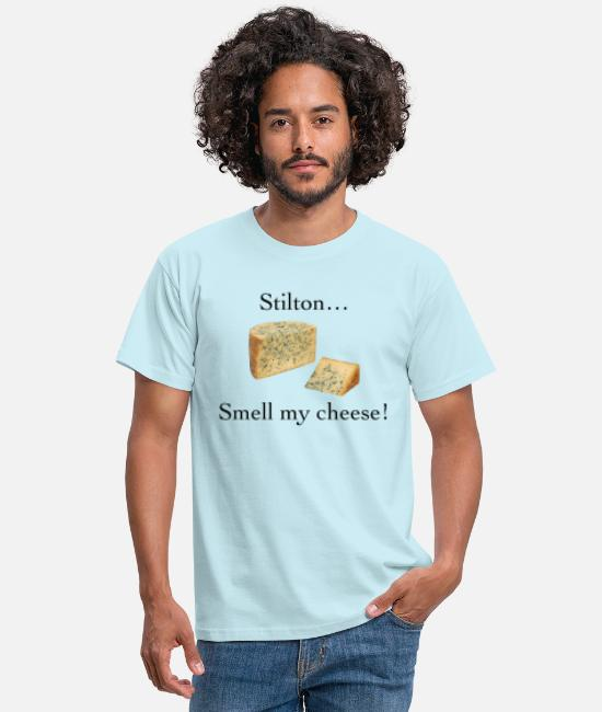 Smell My Cheese T-Shirts - Smell My Cheese - Men's T-Shirt sky