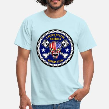 United States United States Riders Club - T-shirt Homme