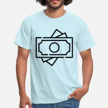 Money bills. Gift idea - Men's T-Shirt
