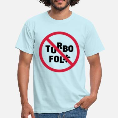 Folke turbo folk - Männer T-Shirt