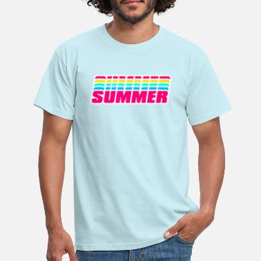 Summer- summer - Men's T-Shirt