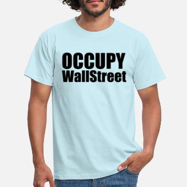Occupy Occupy - Mannen T-shirt