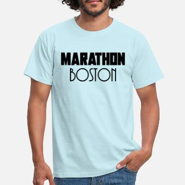 Boston Marathon Marathon boston - T-shirt herr