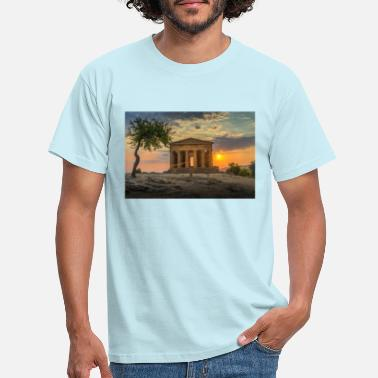 Temple temple of concord - Men's T-Shirt