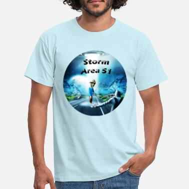 Storm Shadow Storm Area51 - Men's T-Shirt