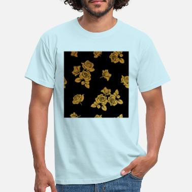 Gold Golden Pattern Metallic Fashion Gift Merch - Männer T-Shirt