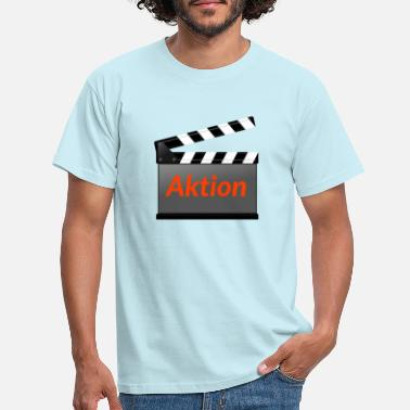 Action Action film - T-shirt mænd