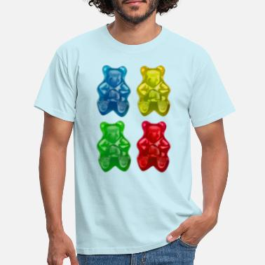 Gummy Gummy bears - Fruity candy children - Men's T-Shirt