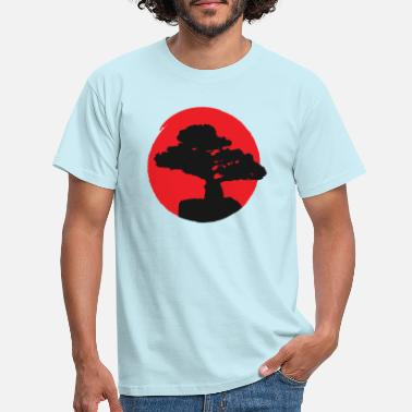 Japan Style Tattoo Bonsai - Männer T-Shirt