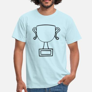 Coupe En Or pokal002 - T-shirt Homme