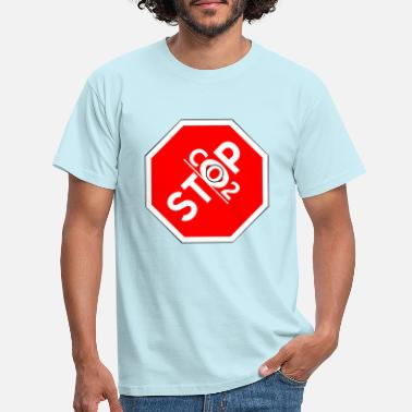 Co2 Stop Co2! - Men's T-Shirt