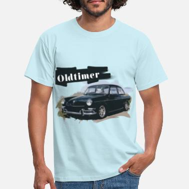 Fordon Oldtimer Car, Design, Oldscool, Automotive - T-shirt herr
