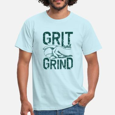 Grindhouse Grit and Grind - Men's T-Shirt
