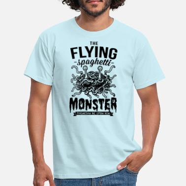 Monster The Flying Spaghetti Monster - T-shirt herr