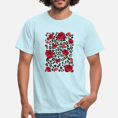 Red Rose Red roses - Men's T-Shirt