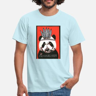 Panda (being different) - Men's T-Shirt