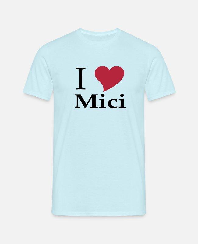 I love Mici - Das Nationalgericht in Rumänien Männer T