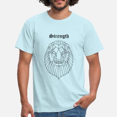 Strength Lion strength - Maglietta uomo