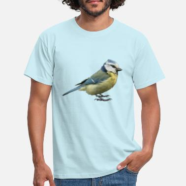 Tit Blue tit 2 - Men's T-Shirt