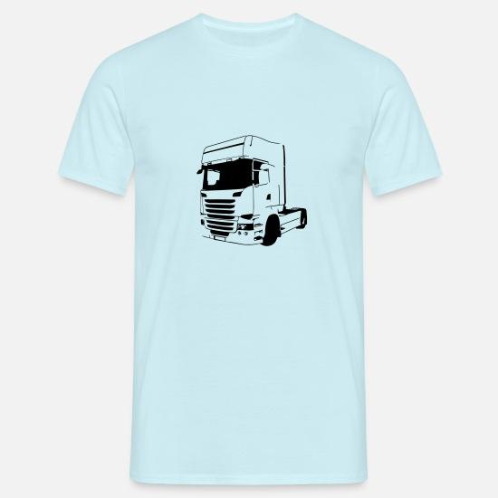 Scania Vabis V8 Retro T skjorte for menn | Spreadshirt