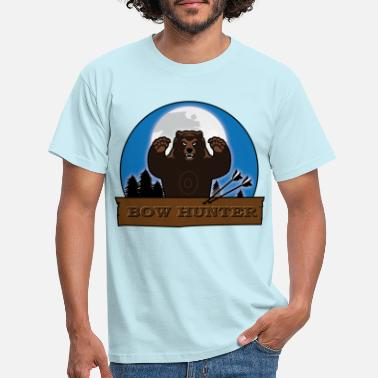 Bow Rider 3D_bär - Men's T-Shirt