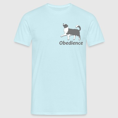 Obedience 3  - Mannen T-shirt