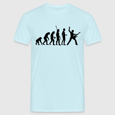 evolution_rocks_b_1c - T-shirt herr