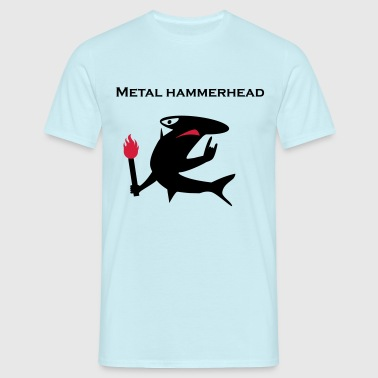 Metal hammerhead - T-skjorte for menn