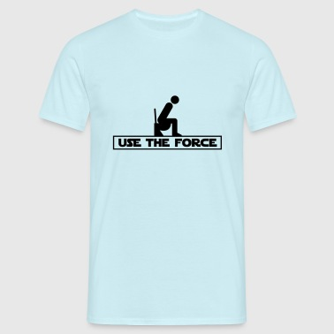 Use the Force (Star Wars WC) - T-shirt Homme