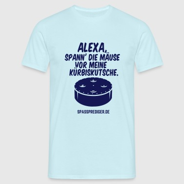 lustiges Shirt Alexa, gute Fee - Männer T-Shirt