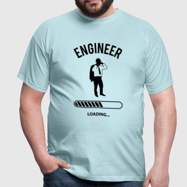 Engineer Loading - Männer T-Shirt