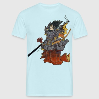 Samurai Warrior - T-shirt Homme