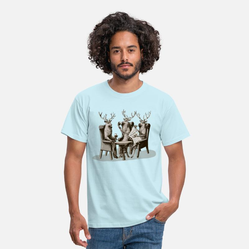 Stag T-Shirts - Stag Party - Men's T-Shirt sky