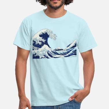 Vague Grande vague - Big Wave - T-shirt Homme