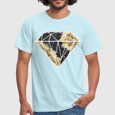 Diamond Supply diamante con squame di pitone - Maglietta da uomo