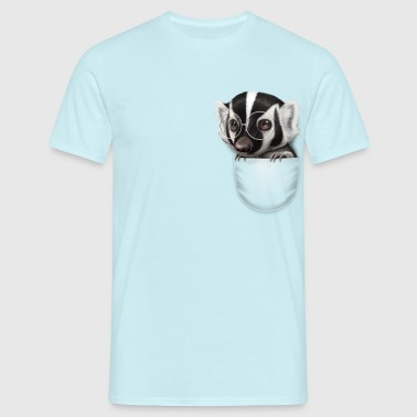 POCKET BADGER - Men's T-Shirt